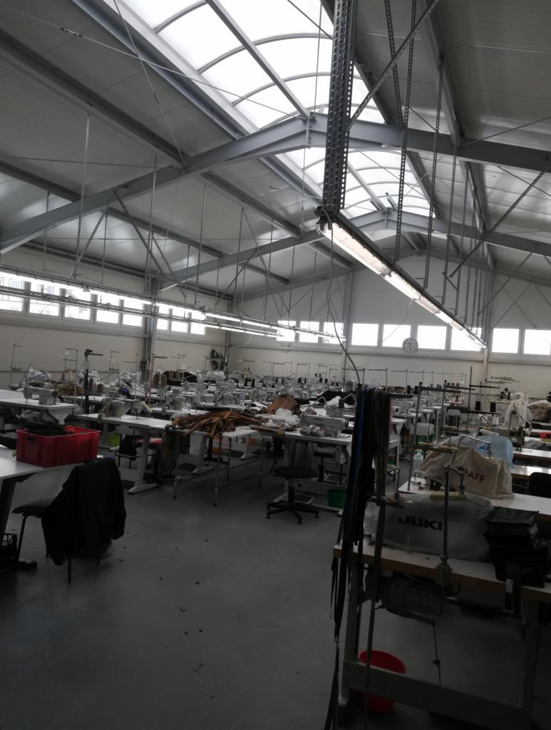 Швейное производство Польша